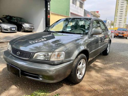 Imagem 1 de 10 de Toyota Corolla 2001 1.8 16v Xei Aut. 4p