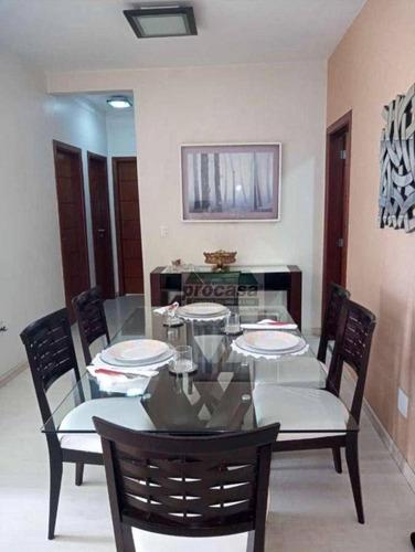 Imagem 1 de 21 de Apartamento Com 3 Dormitórios À Venda, 109 M² Por R$ 550.000,00 - Aleixo - Manaus/am - Ap3439