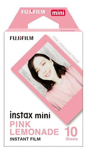 Fujifilm Cartucho Fuji Instax Mini Pink Lemonade 10 Hojas