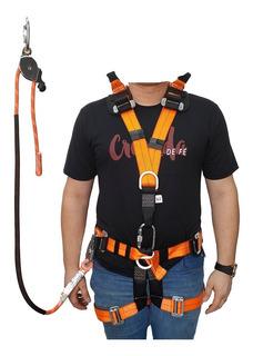 Cinto Paraquedista 7 Telefonia/eletricista/7pontos/completo