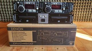 Compactera Doble Denon Dn-d4500