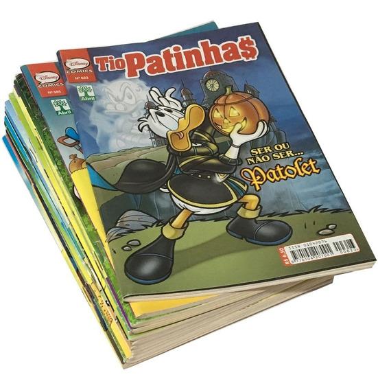 Hq Tio Patinhas Disney Revista Nova Editora Abril