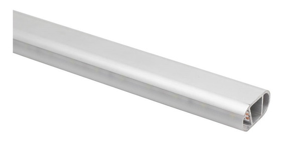 Perfil Led Oblongo Em Aluminio Para Cabideiro Iluminado