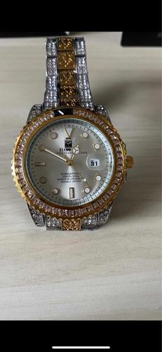 Relógio Iced Out Cravejado Diamante