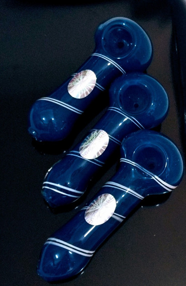 Pipa Azul Rayas Blancas