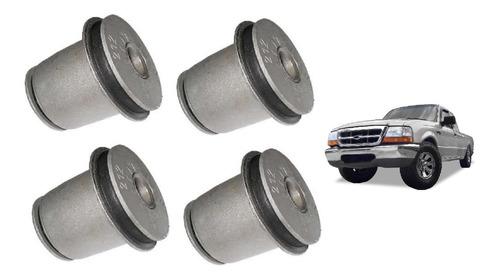 Imagem 1 de 3 de Kit Bucha Bandeja Superior Dianteira - Ford Ranger 98/12
