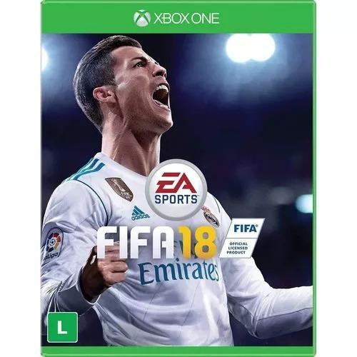 Fifa 18 Xbox One Fifa 2018 Mídia Física Lacrado Português