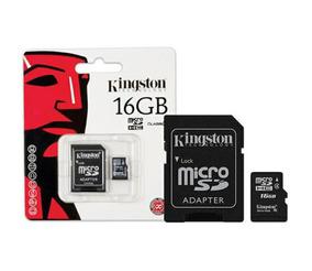 Cartao De Memoria Classe 4 Kingston Sdc4/16gb Micro Sdhc 16