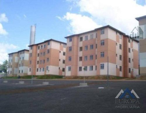 Apartamento Com 2 Dormitórios À Venda, 50 M² Por R$ 130.000,00 - Nova Olinda - Londrina/pr - Ap0844