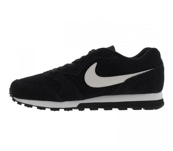 Tênis Nike Md Runner 2 Preto Corrida Camurça Original