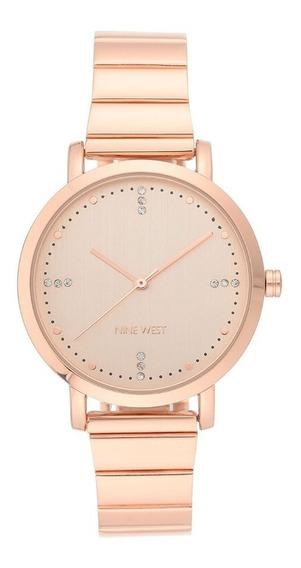 Reloj Para Dama Nine West Nw2278rgrg Envio Gratis