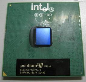 Processador Intel Pentium Iii 866 Mhz Sl4md Socket 370