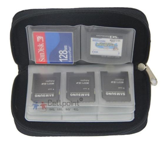 Case Capa Bolsa Porta Cartão De Memória Sd, Sdhc, Micro Sd