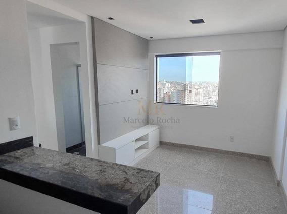 Flat Mobiliado À Venda, 35 M² - Buritis - Belo Horizonte/mg - Fl0004