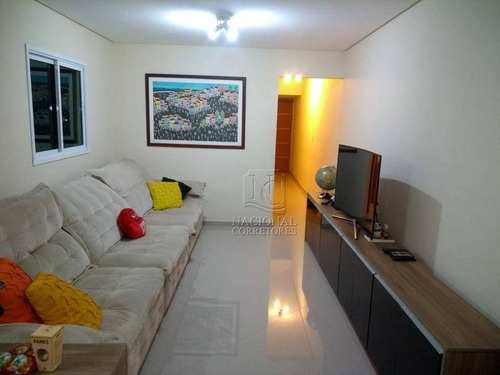 Cobertura Para Alugar, 160 M² Por R$ 3.000,00/mês - Paraíso - Santo André/sp - Co5559