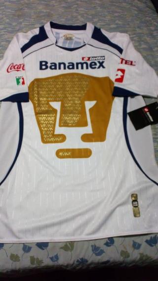 Camiseta Pumas De Unam México Lotto Nueva M