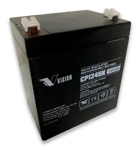 Imagen 1 de 1 de Bateria 12v 4.5ah Vision Cp1245k Ups
