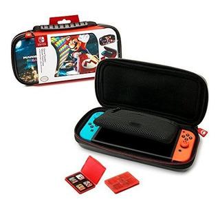 Nintendo Switch Deluxe Mario Kart Travel Case Premium Estuch