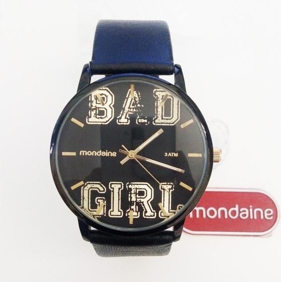 Relógio Mondaine Feminino Analógico Bad Girl 76432lpmvph1