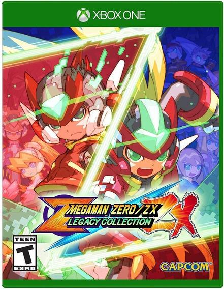 Mega Man Zero/zx Legacy Collection - Xbox One -importado