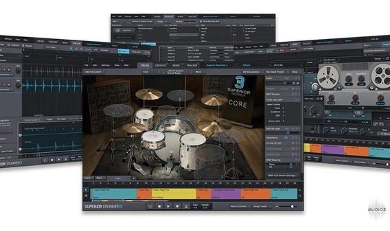 Superior Drummer 3 + Kits Sdx Core + The Metal Foundry Sdx.