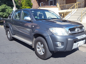 Toyota Hilux 3.0 I Srv Cab Doble At 4x4 Cuero 2010 Impecable