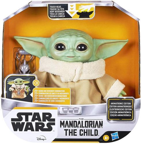 Stock Baby Yoda Animatronic Hasbro