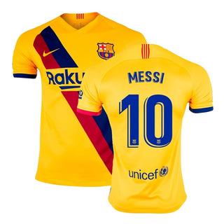 Camisa Nike Barcelona 2 Away 2019/2020 Messi 10 Original
