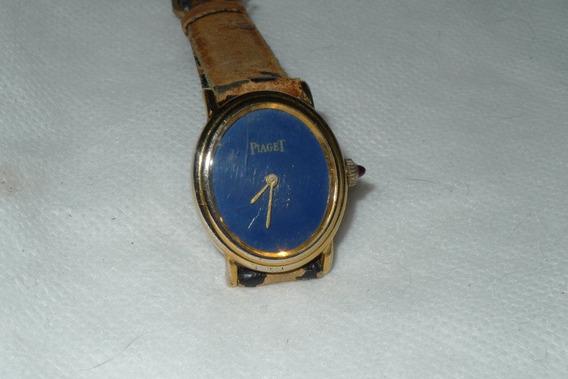 Relógio Piaget Dourado Folheado A Ouro A Corda Feminino!