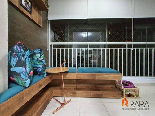 Imagem 1 de 30 de Apartamento À Venda, 80 M² Por R$ 575.000,00 - Centro - São Bernardo Do Campo/sp - Ap0408