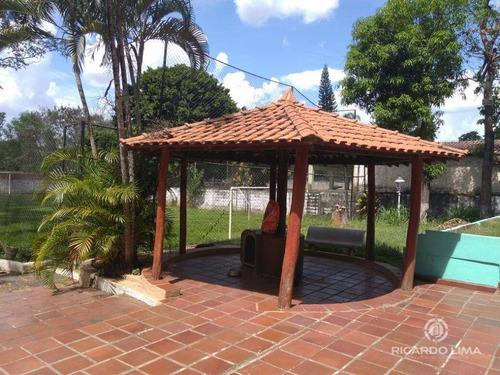 Chácara Com 5 Dormitórios À Venda, 2300 M² Por R$ 650.000,00 - Lago Azul - Piracicaba/sp - Ch0092