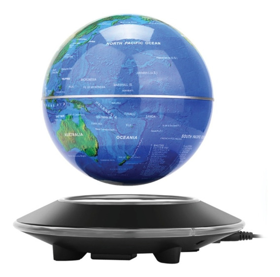 Globo Terrestre Magnético Levitante