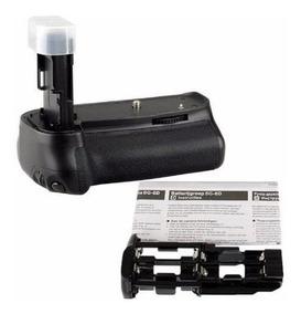 Grip De Bateria Para Canon 6d - Com Suporte Pra Pilhas