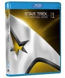 Blu-ray Star Trek 1ª Primeira Temporada Legendado 7 Discos