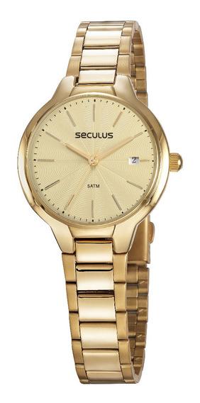 Relógio Seculus Feminino 77051lpsvds1