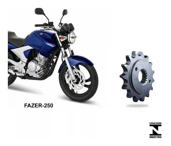 Pinhão 17 Dentes Yamaha Fazer 250 Ano (05-17)