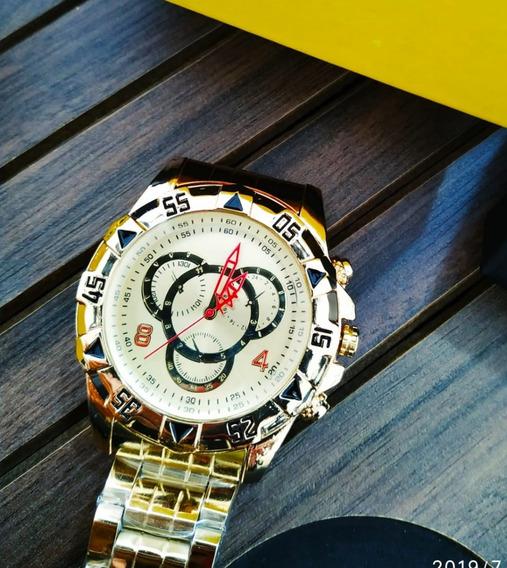 Relógio Dourado - Promoção - Envio Imediato - Na Caixa