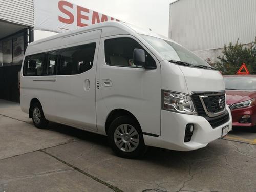 Imagen 1 de 15 de Nissan Urvan 15 Pasajeros Amplia 2020