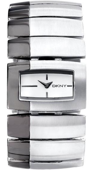 Relógio Feminino Dkny Gny4383n Aço Barato Original