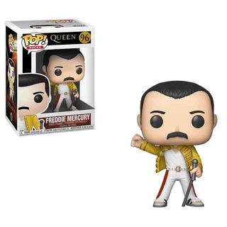Funko Pop Freddie Mercury 96 Queen Baloo Toys