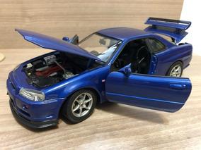 Miniatura Nissan Skyline Gt-r 1:18