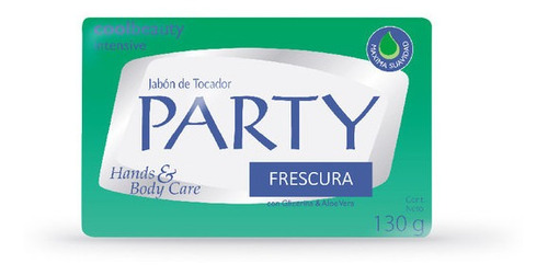 Jabon En Barra Party Frescura X 130 G