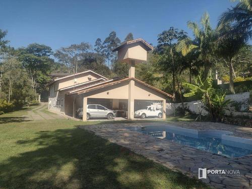 Imagem 1 de 30 de Casa Com 4 Dormitórios À Venda, 380 M² Por R$ 1.600.000,00 - Jardim Itatiaia - Embu Das Artes/sp - Ca0707