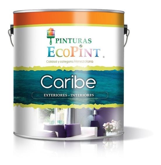 Pintura Blanca Galón Ecopint Caribe Clase A