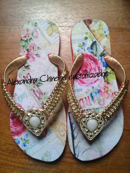 Alexandra Chinelos Customizados