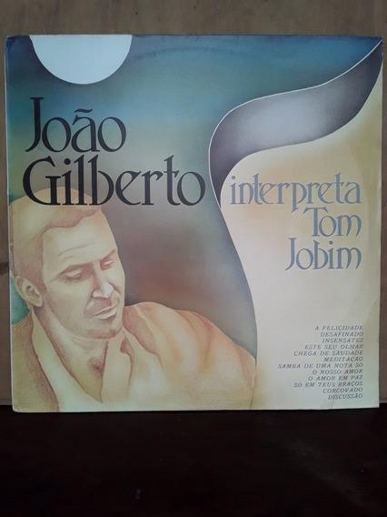 Vinil Lp João Gilberto Interpreta Tom Jobim