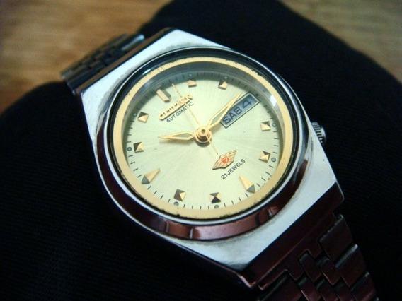 Reloj Citizen Para Dama Automático Dial Dorado