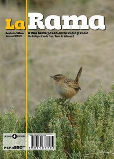 Revista/libro La Rama 02. 100% Temática Literaria Santa Cruz
