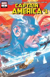 Captain America #1 (2018) Marvel Lgy#705