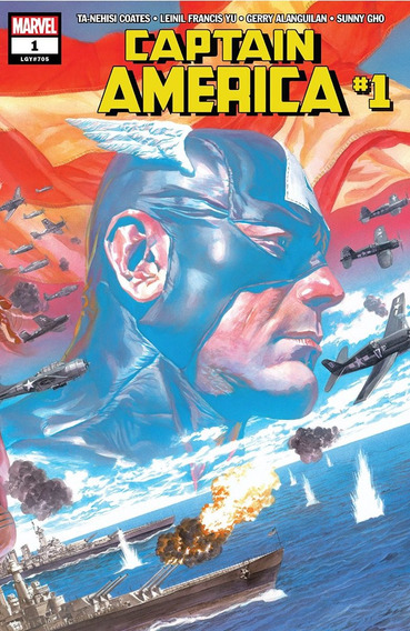 Captain America #1 (2018) Marvel Lgy#705